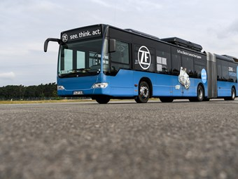 ARTICULATED BUS PROTOTYPE SHOWCASES E-MOBILITY INTEGRATION SUITE