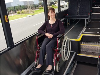 RAPID-ACCESS WHEELCHAIR BUS FLEET INCREASE FOR BUSLINK NT