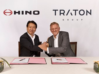 NEWLY FORMED TRATON AG AND HINO DEEPEN TIES VIA E-MOBILITY, PROCUREMENT JV