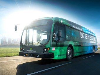 DAIMLER PARTNERS WITH USA'S PROTERRA BUS IN KEY COMMERCIAL E-VEHICLE DEAL
