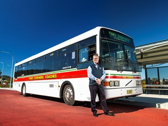 VENERABLE HEAVY-DUTY B10M BUS EPITOMISES VOLVO, SAYS COMPANY