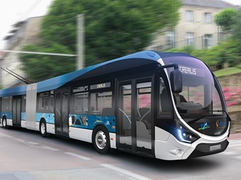 AWARD-WINNING IVECO CREALIS TROLLEYBUS WINS FIRST ORDER