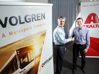 VOLGREN APPOINTS AXALTA AS ITS EXCLUSIVE PAINT SUPPLIER
