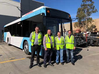 NEW-LOOK CUSTOM DELIVERS FIRST BUSES