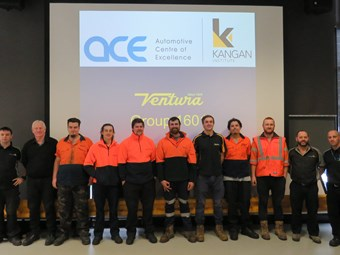 KEY APPRENTICE SCHEME PRODUCES VENTURA BUS TAFE GRADUATES