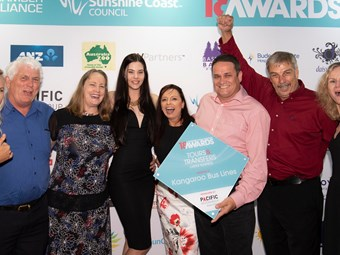 KANGAROO BUS LINES WINS MAJOR TOURISM AWARD – AGAIN!