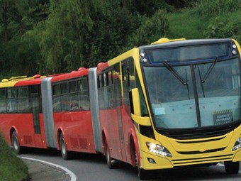SWEDISH BUSES DOMINATE MASSIVE LATIN AMERICA BRT RENEWAL