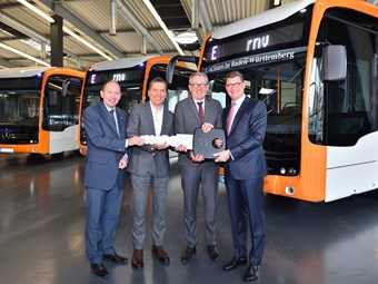 MB E-CITARO BUS ROLL-OUT CONTINUES IN GERMANY