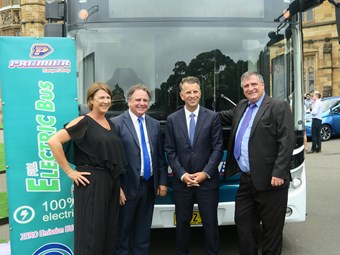 YUTONG E12 ELECTRIC BUS STARS AT NSW GOVT E-BUS LAUNCH