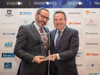 MB ELECTRIC ECITARO WINS MAJOR SPANISH BUS AWARD