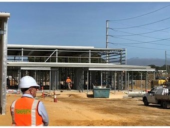 WEST PERTH BUS DEPOT PROJECT ON TRACK