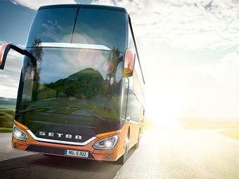 NORTH-EAST EUROPE TEST FOR DAIMLER DOUBLE-DECK BUS