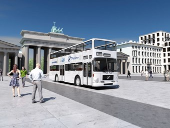 BERLIN DIESEL DOUBLE-DECKERS TO BE RETROFIT AS ELECTRIC BUSES