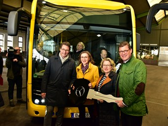 MERCEDES-BENZ E-CITARO ELECTRIC BUS DELIVERY TO BERLIN STARTS