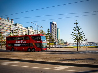SKYBUS OPERATOR TO ACQUIRE TRANSIT AUSTRALIA GROUP - BUSTECH NOT INCLUDED!