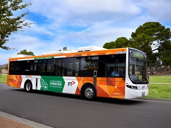 FIRST OF 50 NEW VOLVO HYBRID BUSES READY FOR MELBOURNE