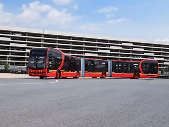 "WORLD'S LONGEST ""PURE ELECTRIC"" BUS LAUNCHED"