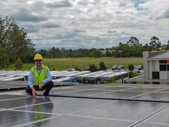 BUSWAYS MAKES SUSTAINABLE MOVE WITH DEPOT SOLAR PANELS