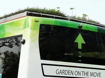 ASIA'S 'FIRST' GREEN-ROOF BUS TRIAL STARTS IN SINGAPORE