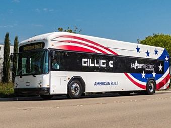 CUMMINS-POWERED ELECTRIC BUS UNVEILED STATESIDE