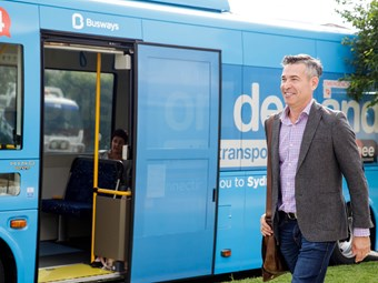 ON-DEMAND BUS SERVICE LAUNCHED FOR NEW SYDNEY METRO