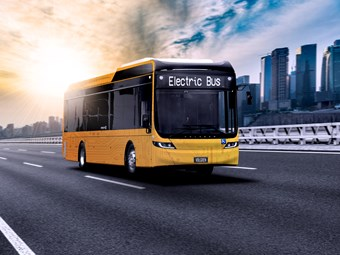 TAKING CHARGE – VOLGREN-BYD ELECTRIC BUS PROTOTYPE