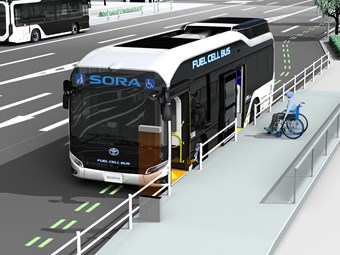 TOYKO 2020 OLYMPICS TO DRAW WORLD ATTENTION TO HYDROGEN BUSES