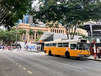 BRISBANE 'OPEN HOUSE' SHUTTLE BUSES A BIG HIT