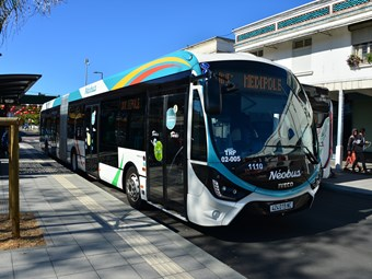 IVECO CREALIS KEY TO NEW CALEDONIA BUS RAPID TRANSIT NETWORK