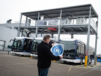 MERCEDES-BENZ ECITARO WINS MAJOR GERMAN ENVIRONMENT AWARD