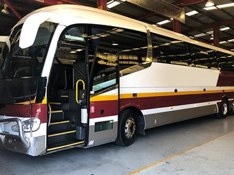 QUEENSLAND REGIONAL BUSES IN $54.5 MILLION SUPPORT PACKAGE