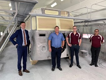 QUEENSLAND HERITAGE BUS TRIO 'REFURBS' FAST-TRACKED