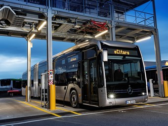 ARTICULATED ELECTRIC CITARO JOINS DAIMLER E-BUS RANGE