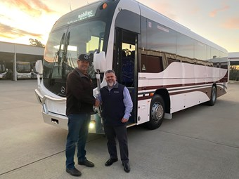 LAST 'CUSTOM SB50' BUS BODY DELIVERED