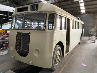 RESTORED BRISBANE HERITAGE BUS TO MAKE DEBUT