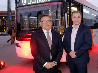 TRANSDEV MELBOURNE 100-BUS FLEET UPGRADE COMPLETES