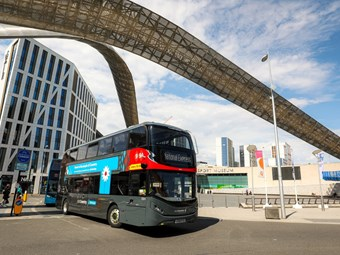 INITIAL NATIONAL EXPRESS DOUBLE-DECK E-BUS ORDER COMPLETES