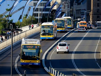 BRISBANE NATURAL-GAS BUS PHASE-OUT REASON: EXPLOSIONS!