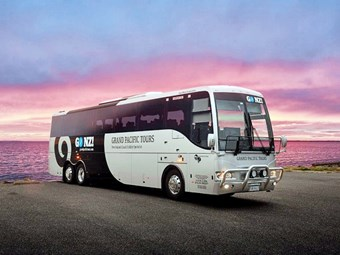 Grand Pacific Tours - MB coach for sale