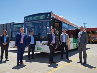BUS ZONE-MANAGEMENT TECH INTRODUCED INTO VICTORIA
