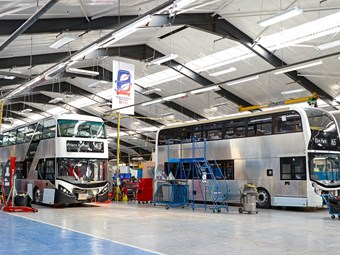 ADL-BYD TO BUILD E-BUSES 'FULLY' IN BRITAIN