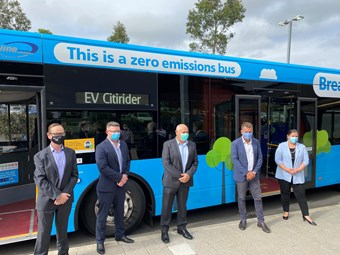 NSW BUS OPERATOR INTERLINE STARTS 10 E-BUS ROLL-OUT