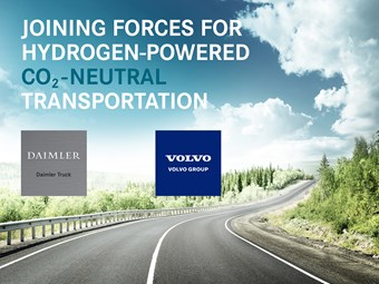 Daimler and Volvo complete fuel-cell JV transaction