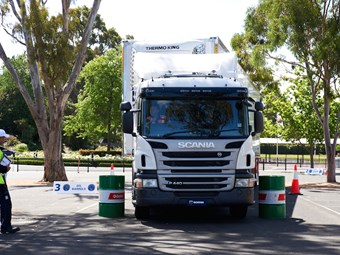 Scania truck driver competition to be held in October