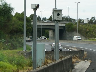 Northern Expressway safety cameras turned on