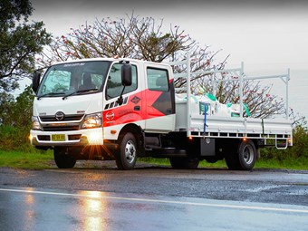Pint-sized Hino 300 delivers big grunt
