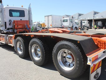 Special fit-outs needed to prepare truck for WA conditions