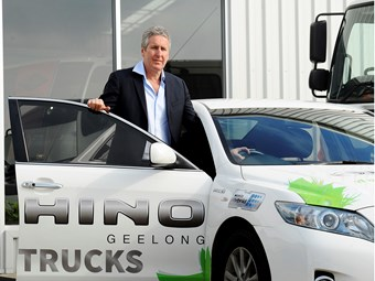 Hino Geelong aims to be Australia's greenest truck dealer