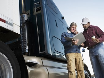 Truck regulator lifts paperwork burden on drivers in North America