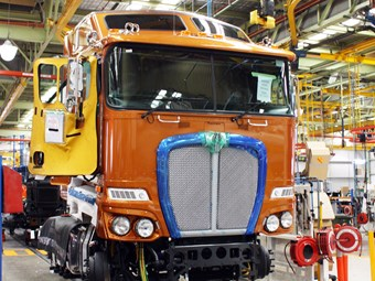 Kenworth V Volvo Update: Woody Wagon takes Shape